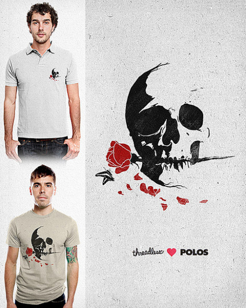 Never Fades on Flickr. For Polo or Tee! Score it here http://www.threadless.com/submission/370667/Never_Fades! :)