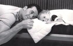 James Garner and daughter