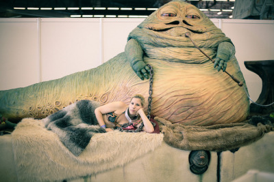 Jabba on Flickr.Jabba at the Japan Expo