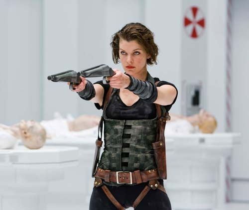 totalfilm:  Milla Jovovich reveals Resident Evil 5 plot and casting Milla Jovovich has been busy on Twitter. The Resident Evil 5 actress has been updating her fans - and therefore the world - about what to expect from the fifth videogame movie.   Resident Evil: Retribution is currently shooting in Canada and if Jovovich is to be believed writer/director Paul W.S. Anderson is making good on his promise to incorporate fan-feedback into the project.  So, what do we know? [FOR THE DETAILS, CLICK ON MILLA OR FOLLOW THIS LINK]  YES YES YES!!! hot mila!!