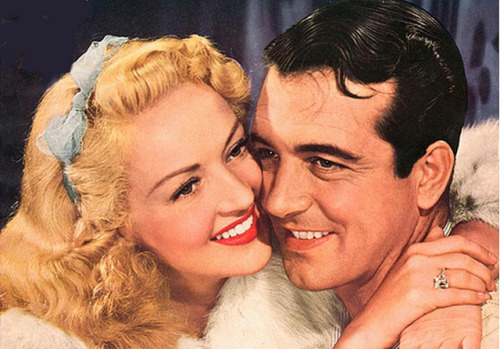 Betty Grable and John Payne