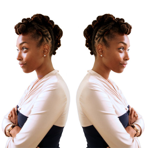 chescaleigh:  yesterday's hair (click to enlarge photo)  Beautiful!