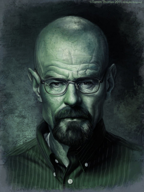 pacalin:  Breaking Bad: Walter White - by Torren Thomas