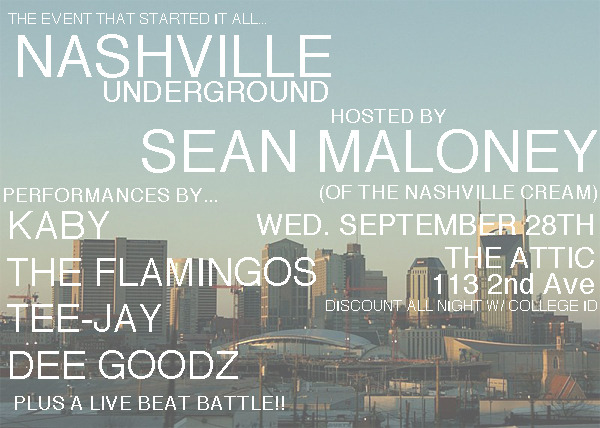 clubofyachts:  It's going down!!! Wed. September 28th hosted by @SeanLMaloney of the Nashville Cream