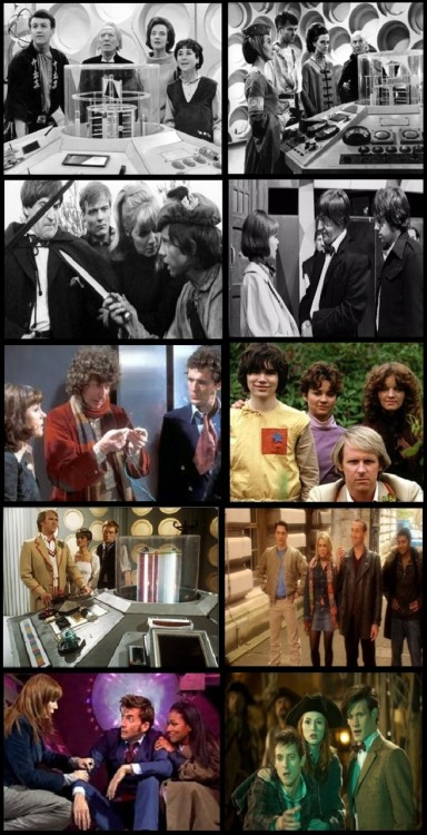 As we love teams on the TARDIS so much, here's a nice selection.