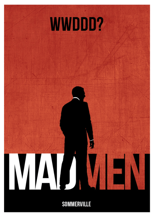joesommerville:  Mad Men Poster (Design 2)