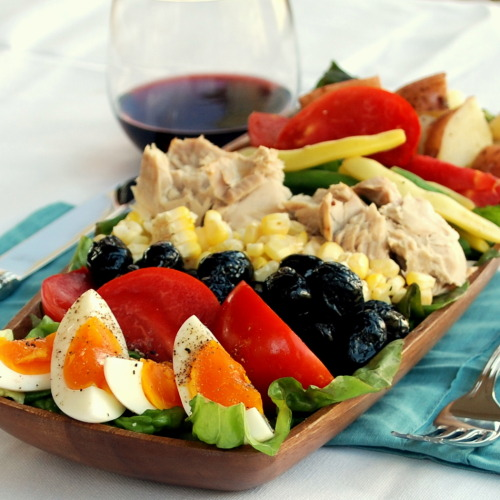9 Days till I'm back in France. Day dreaming of Nicoise Salads.
