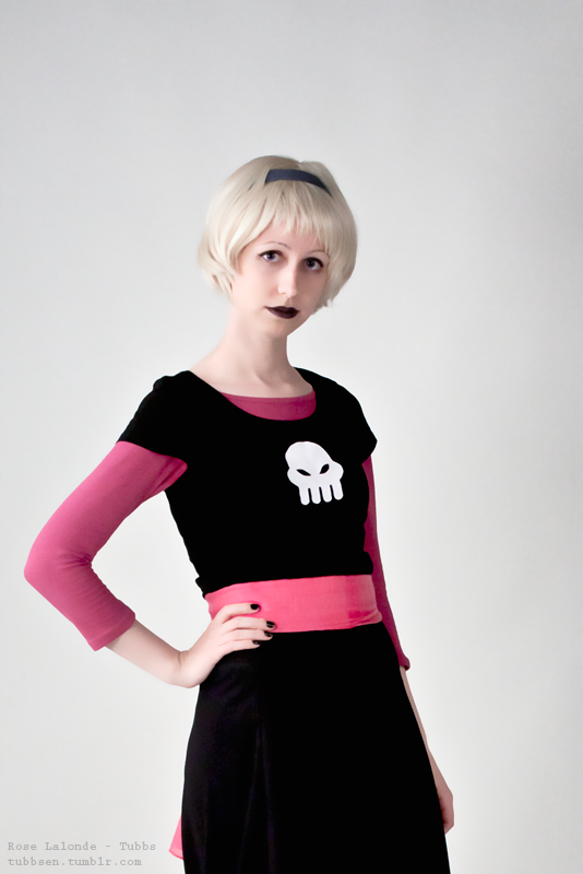 Third of the Homestuck portraits series. Rose Lalonde: Tubbs