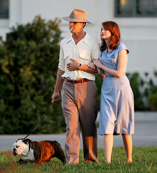 -saturdaynightlive:  Can Ryan Gosling and Emma Stone just be in all movies? And also, can they be the new, like, Richard Gere/Diane Lane pairing? Except less wimpy and more awesome?