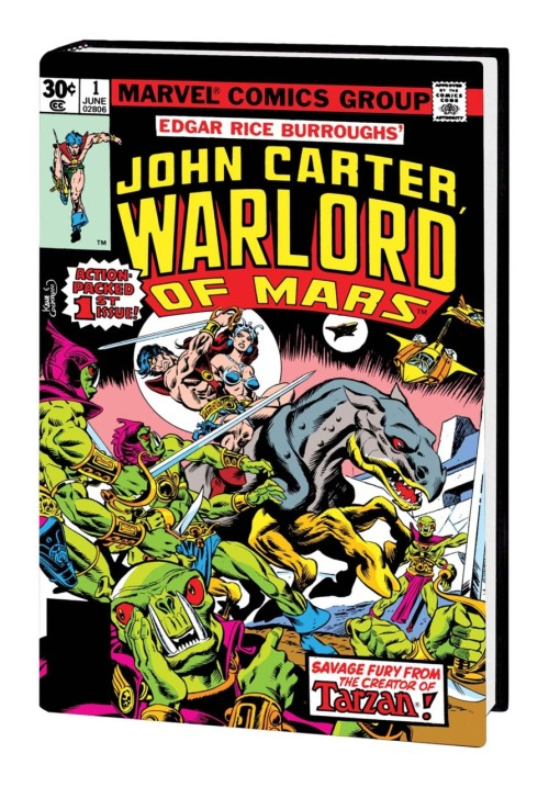 swordandsorcerytales:  John Carter: Warlord of Mars. Marvel comics.