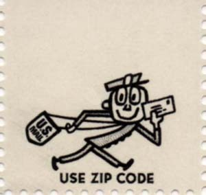 Vintage Mr. Zip :: Working hard for you!