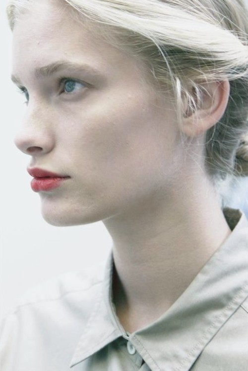 petrole:  backstage at margaret howell spring summer 2012