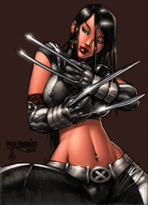 justjokin:  Claws Out by ConfuciusRetaliation  X-23