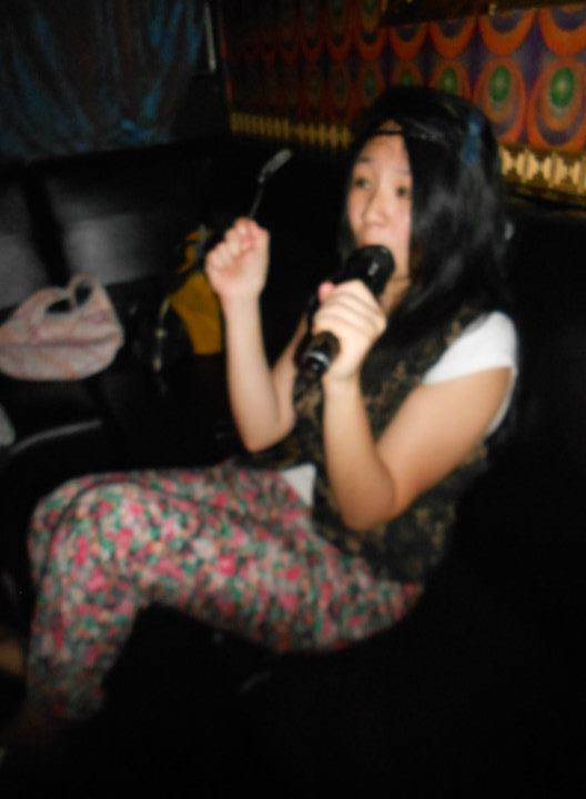 what did i do today?  go karaoke in wan chai :) [the red light district of hong kong island]  it was fun! despite the language/cultural barrier that exists between international exchange students :( i don't think everyone had fun though, because some people didn't know the songs others were singing, so it was kind of awkward. if only there was alcohol, things would've been probably a lot better—THOUGH it was fun none the less :) AWWWWWW YEAHHHHHHHHHHHHHHHH: old school music i sang:  westlife: my love + world of our own abba: mamma mia + dancing queen blue: one love n'sync: bye bye bye. promise? spice girls: wannabeeeee backstreet boys: want it that wayyyyyyy. andrea bocceli+sara brightman: time to say goodbye IN ITALIANOOO!! no chinese old school songs though :/ we had a mix of: chinese, english, korean, and… sadly no japanese songs in the mix :) — side note: do you see what i'm wearing? isn't it very hippie like. WELL, YOU ARE CORRECT.  today, for one of my group projects [creative industries in east asia (aka porn class)], i was a hippie for my skit. and TOMORROW, another project [in intro to accounting. who the fuck has projects in accounting????] i have to wear something formal. ugh what the fuck. so maybe you'll see another outfit of mine tomorrow!