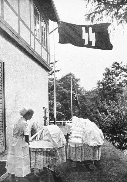 A Lebensborn birth house, 1943.