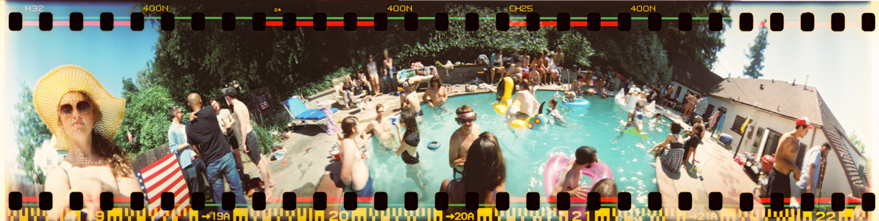 JUCO pool party.  Eagle Rock, CA - July 2011 ©Lauren Randolph