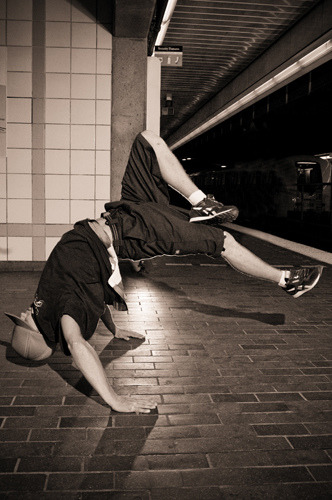 break dancing is art.
