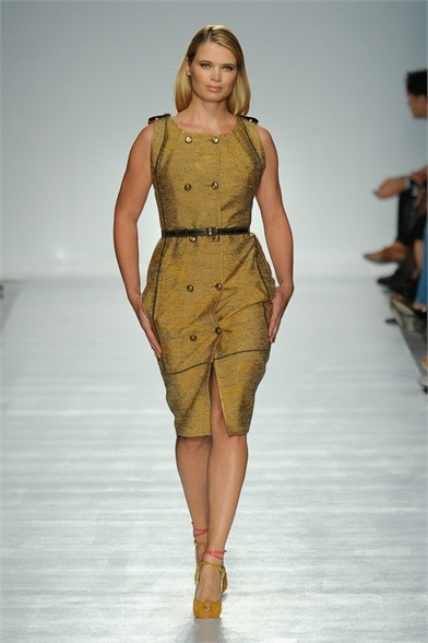 curveappeal:   Elena Miro Spring Summer 2012 Ready-To-Wear Collection, Look #24 via Vogue Italia