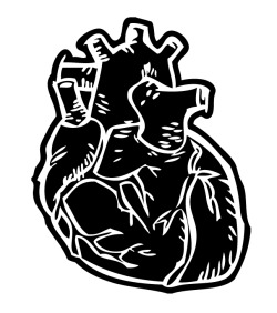Heart Print/Sticker Design