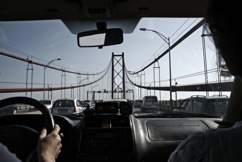 Ponte de 25 de Abril, Lisboa 2011portuguese version of the Golden Gate Bridge ;)