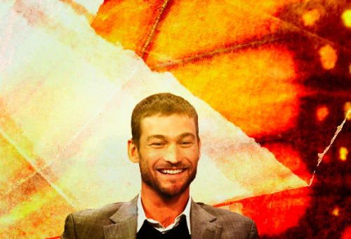 """I am like a butterfly with broken wings."" RIP Andy Whitfield (1972-2011)"