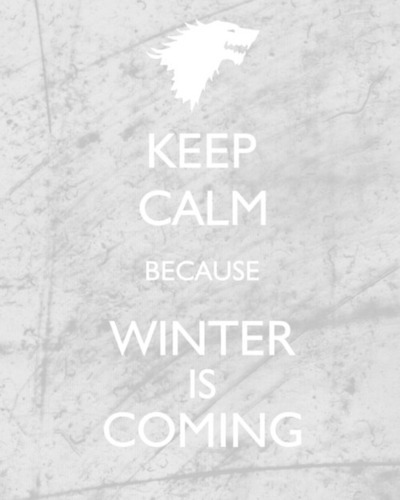 begoodfeelgood:  winter is coming.