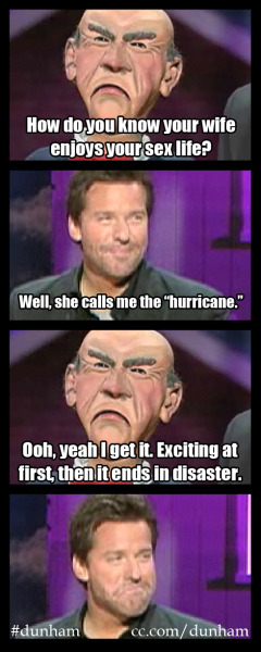 "atomcomedy:  ""Jeff Dunham: Controlled Chaos"" premieres this Sunday at 9/8c on Comedy Central."