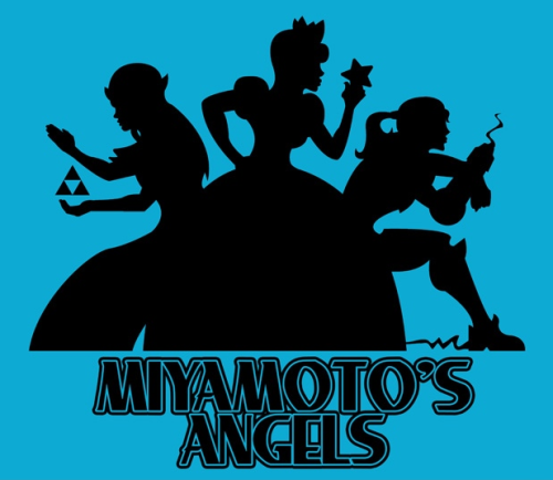 justjokes:  Miyamoto's Angels  Hell Yes.