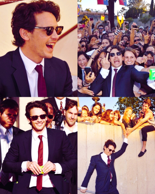 "James Franco at the ""Your Highness Premiere"" in April 2011"