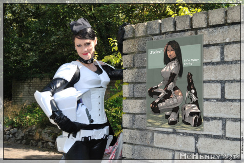 starwarsgonewild:  Elf Fantasy Fair Arcen 2011 Star Wars Pin-Up Girls Recruitment By mchenryarts
