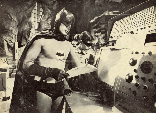 Photo from 3-D Batman comic (1966)