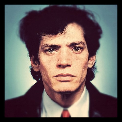 Neil Winokur - Robert Mapplethorpe, 1982. Modified using instagram. View original version here.