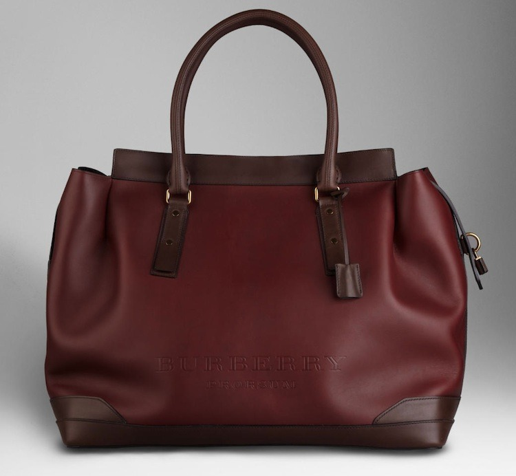 BAGS | Burberry Oversize Leather tote