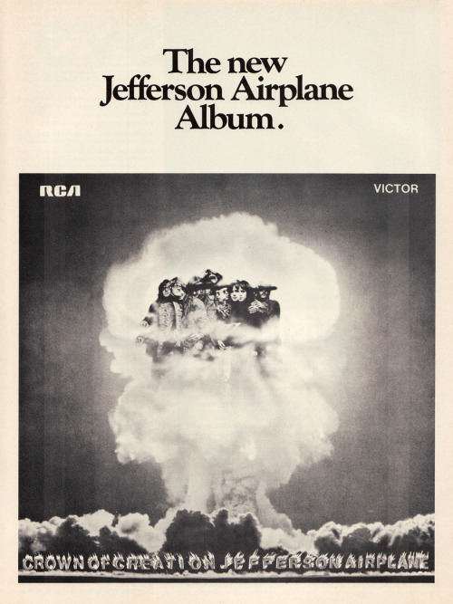 babylonfalling:  Jefferson Airplane's Crown of Creation (1968)