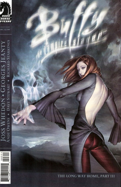 My favorite Buffy comic book cover