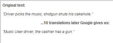 THE CASHIER HAS A GUN i cannot