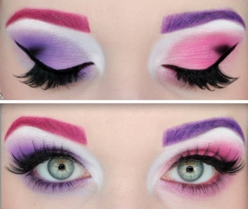 what if lady gaga make up like this?