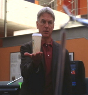 If your drink of choice is coffee make sure that you are as steady as Gibbs with his caffeine!  Image source: www.ncisfanwiki.com