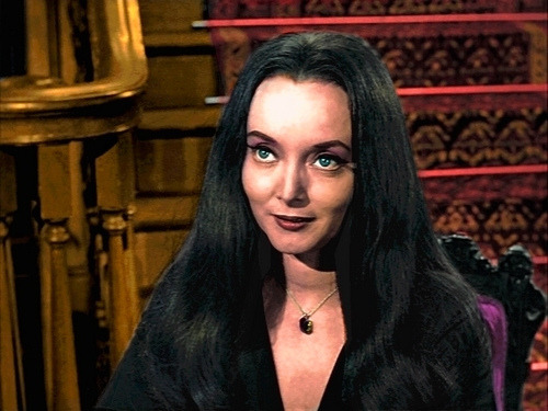 Morticia in color!