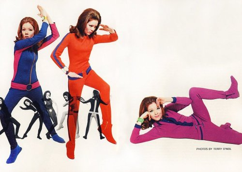 Emma, Emma, Emma moonagefashion:  Diana Rigg as Emma Peel (diabolik.posterous.com)