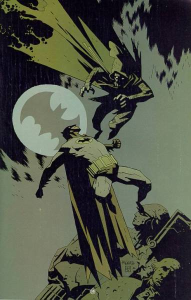 simpelskurk:  batman vs ragman by mike mignola
