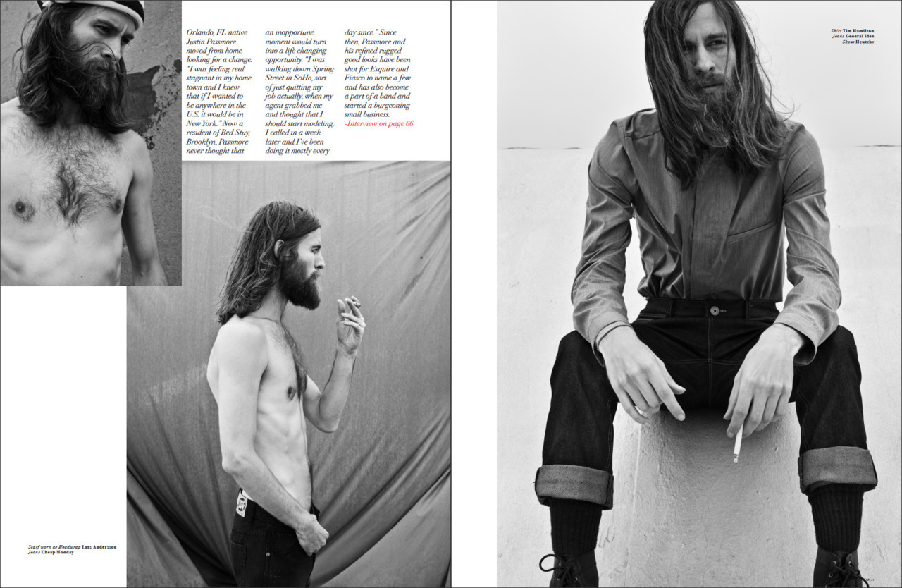 Openlab Magazine Editorial Photographed  by Nando   Esparza Justin Passmore @ RED