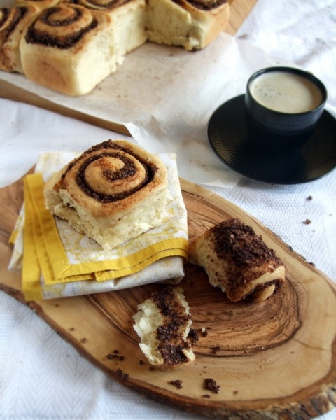 homeandhearth:  Chocolate and Hazelnut Rolls (via fattiesdelight)
