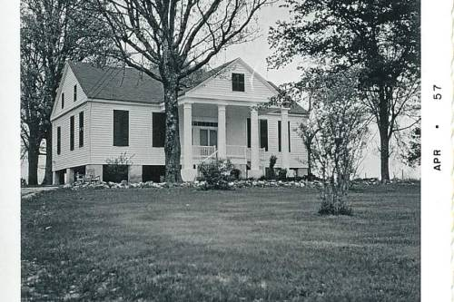 "This is the Perry-McIlwain-McDow House in Lancaster County SC, listed in the National Register of Historic Places on September 16, 2011. The home is located in an area known as the Waxhaw territory of the Catawba lands in the Lancaster District of South Carolina and can be viewed on the 1825 Mills' Atlas map of Lancaster District, the 1820 survey having been undertaken by J. Boykin. The McIlwains and the McDows were among the early groups of Scots-Irish immigrants who came to the area in the mid 1700s.  The McIlwains and McDows, as many other early settlers, received royal land grants.  Andrew McIlwain received a land grant for about 300 acres south and a little east of Lancaster  and his son Robert later received a land grant in the same area on the head waters of Rum Creek.  Andrew McIlwain and his son Robert, acquired large estates in the Rum Creek area and also in the area of Jones Cross Roads and the old Brown's Ferry Road which went through their property.  This old Brown's Ferry Road crossed the Catawba River and ran in an easterly direction toward old Douglas Church.  It went on past the old church area continuing to Jones Cross Roads. [1]   McDow family members believe the home, which they always referred to as Fairview Farm, was built between 1830 and 1840 by Andrew McIlwain's daughter Mary A. Perry.  Tax records show a transfer of the property from H.H. Gooch to W.J. McIlwain in 1880.  It is unclear how the property came into Gooch's possession as many records were burned during the Civil War.  His daughter, Nancy E. Gooch, married William Josiah McIlwain, a grandson of Andrew McIlwain and nephew of Mary A. Perry.  The home was later given by William Josiah McIlwain to his daughter Mary Harriet McIlwain after her marriage in 1879 to John Cunningham McDow.  Lancaster County tax records show the property transferred in 1893 from W. J. McIlwain to Mary Harriet McDow.  Family members are certain that Mary Harriet McIlwain and John Cunningham McDow occupied the house from the time of their marriage until their deaths in 1935 and 1943 respectively.     Mary Harriet McIlwain, wife of John Cunningham McDow, was born in the Jones Cross Roads section of Lancaster County on December 11, 1856, to Captain William Josiah McIlwain and Nancy Elizabeth Gooch.  Captain McIlwain was a captain in the Confederate Army.  He owned a large amount of land and property in the Jones Cross Roads area, extending, it is said, almost to Elgin, in Kershaw County.  After the war, he did manage to hold on to his land and divide it among his several children. In fact, ""Fairview"" was a gift——possibly a wedding gift—to ""Ma and Daddy John"" (Mary Harriet McIlwain and John Cunningham McDow).[2]  Mary Harriet McIlwain McDow lived at Fairview Farm until her death on September 9, 1943.  She is buried at nearby Douglas Presbyterian Church.   John Cunningham McDow was born in Liberty Hill, South Carolina, on January 13, 1855, to Dr. Thomas Franklin McDow and Isabella Louisa Cunningham, also of Liberty Hill. Louisa Cunningham McDow's father was a wealthy planter and the Cunningham home was burned by Union troops. ""Daddy John""  attended grammar school in a one-room cabin in Liberty Hill, later used as the town library.  Later he attended Col. Asbury Coward's Military School in York, South Carolina.  He was also a member of General Wade Hampton's Red Shirts.  ""Daddy John"" spent part of his years as a planter at Fairview Farm, but also spent many years in Charleston, where he sold horses and mules from a stable on Queen Street.  Several of his children were born and grew up in Charleston.  The family were members of the First Scots Presbyterian Church of Charleston. ""Daddy John"" spent his very late years at their beloved Fairview Farm near Jones Cross Roads in Lancaster County. He died at Fairview Farms on January 27, 1935, at age eighty of pneumonia, and is also buried at old Douglas Presbyterian Church cemetery.""[3]   The McDows also had a home in Charleston on Orange Street.  Their children went to school in Charleston and spent their summers at Fairview Farms.  Mary Harriet did not like to live at Fairview Farms by herself.  During the time that her son William lived in Charleston, another son Alfred and family lived at Fairview Farms with her.  Their daughter, Janette McDow Steele, was born at Fairview Farms during that time and she resides less than a half-mile from the home.  When William's family returned from Charleston to live in the home, Alfred's family moved out of the home.    William McDow and his family continued to live in the home until 1956 when he sold the home to Mattie (Mrs. Dewitt) Plyler.  By that time much of the acreage had been partitioned for sale and only twenty nine acres remained with the home.  The Plylers had a home in the town of Lancaster and used the property for pleasure rather than as a residence.   Owners since that time have included William Lambert (1970-1973); W. Cliff Martin (1973-1974); and Fred Mullis (1974-1976).  When the property changed ownership to Fred Mullis, only three acres were sold with the home.  It was next sold to David H. Lyle in 1976, and in 1985 it passed to his son David H. Lyle, Jr. and his wife Lisa Lyle.  They held it for only one year, and sold the home in 1986 to the current owners Kim and Rupert Moredock, who are responsible for most of the preservation and restoration of the home. [1] Ibid.  [2] Ibid, 1975 edition. [3] Ibid., 1975 edition."