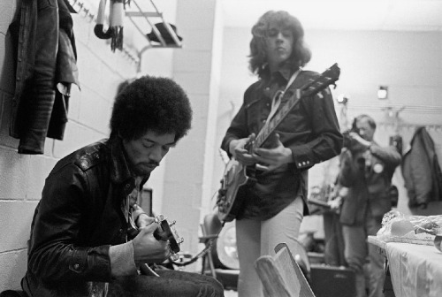 Jimi Hendrix and Mick Taylor of the Rolling Stones Read more…
