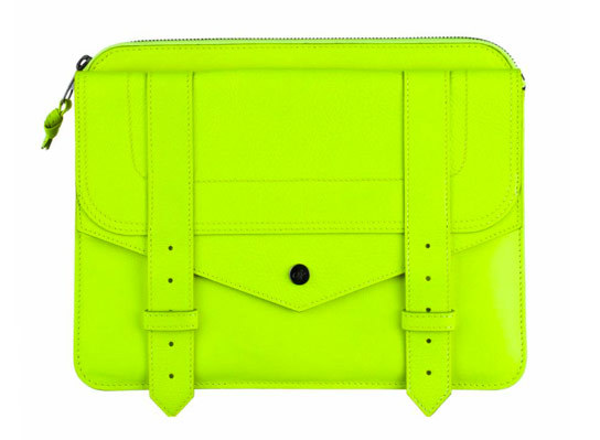 Would you carry this Proenza Schouler iPad Case as a clutch? We surely would, it is amazing and the price is doable!