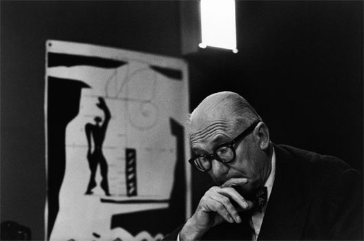 Le Corbusier (1959) photographer: René Burri (via toniiu:)