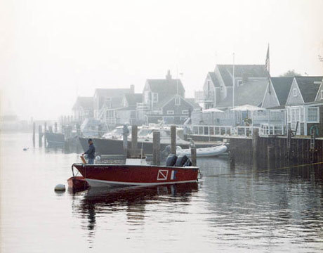 lemonadeandivy:  fall fog ~ nantucket.