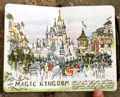 taylormariegreen:  The Magic Kingdom by Sketchbuch