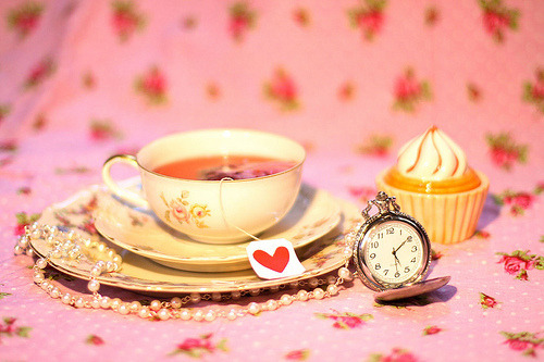 earlgrayteapudding:  Delicate tea parties and punctuality.